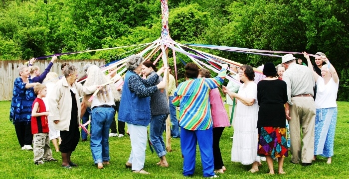 Views of Crystal Visions – May Pole Celebration